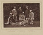 'Group taken at Hughenden Manor', by Henry William Taunt & Co, published by  A.W. Cowan, 1874, published 1881 - NPG  - © National Portrait Gallery, London