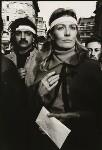Tariq Ali; Vanessa Redgrave, by John Walmsley, 27 October 1968 - NPG  - © John Walmsley