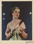 Nadine Muriel (née Crofton), Countess of Shrewsbury as Ariadne, by Madame Yevonde, 1935 - NPG  - © Yevonde Portrait Archive