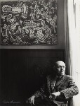 Jean Philippe Arthur Dubuffet, by Ida Kar, 1964 - NPG  - © National Portrait Gallery, London