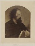 Alfred, Lord Tennyson, by Julia Margaret Cameron, May 1865 - NPG  - © National Portrait Gallery, London