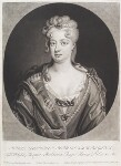 Sophia Dorothea, Queen of Prussia, by and published by John Smith, after  Friedrich Wilhelm Weidemann, 1715 (1714) - NPG  - © National Portrait Gallery, London