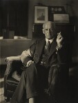 John Galsworthy, by (Mary) Olive Edis (Mrs Galsworthy), 3 October 1929 - NPG  - © National Portrait Gallery, London