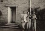 W.H. Auden; Sir William Menzies Coldstream; Benjamin Britten, by Unknown photographer, 1937 - NPG  - © National Portrait Gallery, London