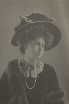 Winnafreda (née Yuill), Countess of Portarlington, by (Mary) Olive Edis (Mrs Galsworthy), and  Katharine Legat (née Edis), 1907 - NPG  - © National Portrait Gallery, London