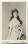 Kate Terry as Ophelia in 'Hamlet', by United Association of Photography Limited, 1865 - NPG  - © National Portrait Gallery, London