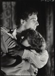 John Gielgud; Dame Peggy Ashcroft as Romeo and Juliet in 'Romeo and Juliet', by Howard Coster, 1935 - NPG  - © National Portrait Gallery, London