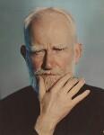 George Bernard Shaw, by Madame Yevonde, 1937 - NPG  - © Yevonde Portrait Archive