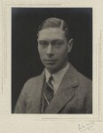 King George VI, by Olive Edis, 1920 - NPG  - © National Portrait Gallery, London