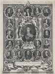 King Charles I and his Supporters, by Joseph Nutting, early 18th century - NPG  - © National Portrait Gallery, London