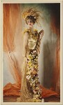 Dorothy Etta Warrender (née Rawson), Lady Bruntisfield as Ceres, by Madame Yevonde, 1935 - NPG  - © Yevonde Portrait Archive