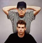 Pet Shop Boys (Chris Lowe; Neil Tennant), by Eric Watson, 1986 - NPG  - © Parlophone Records/Pet Shop Boys Partnership Ltd