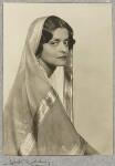 Indira, Maharani of Cooch Behar, by Dorothy Wilding, 1928 - NPG  - © William Hustler and Georgina Hustler / National Portrait Gallery, London