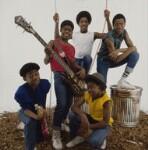 Musical Youth (Freddie ('Junior') Waite; Patrick Waite; Kelvin Grant; Michael Grant; Dennis Seaton), by Eric Watson, 1983? - NPG  - © Eugene and Willa Watson / National Portrait Gallery, London
