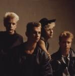 Depeche Mode (Alan Wilder; Andy Fletcher; Dave Gahan; Martin Gore), by Eric Watson, 8 May 1985 - NPG  - © Eugene and Willa Watson / National Portrait Gallery, London