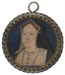 Katherine of Aragon, attributed to Lucas Horenbout (or Hornebolte), circa 1525-1526 - NPG  - Private collection; photograph © National Portrait Gallery, London