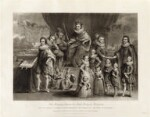 'James I and his royal progeny', by Charles Turner, published by  Samuel Woodburn, after  Willem de Passe, published 1814 - NPG  - © National Portrait Gallery, London