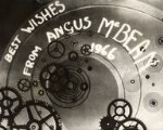 'Best wishes from Angus McBean', by Angus McBean, 1966 - NPG  - © estate of Angus McBean / National Portrait Gallery, London