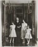 Queen Elizabeth II; King George VI; Queen Elizabeth, the Queen Mother; Princess Margaret, by Marcus Adams, 1938 - NPG  - © estate of Bertram Park / National Portrait Gallery, London
