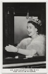 Queen Elizabeth II, possibly by Charles James Dawson, for  Central Press, published by  James Valentine & Sons Ltd, 4 November 1952 - NPG  - © Getty Images