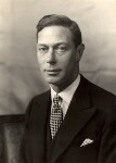 King George VI, by Walter Stoneman, 1938 - NPG  - © National Portrait Gallery, London