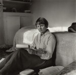 Iris Murdoch, by Ida Kar, 1957 - NPG  - © National Portrait Gallery, London