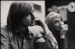 Michael ('Mike') Oldfield; Sally Oldfield, by Brian Shuel, 1973 - NPG  - © Brian Shuel / National Portrait Gallery, London