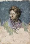 Odette Marie Céline Hallowes (née Brailly), by Pietro Annigoni, 1961 - NPG  - © estate of Pietro Annigoni / National Portrait Gallery, London
