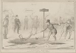 A Canadian Winter, by John ('HB') Doyle, printed by  Alfred Ducôte, published by  Thomas McLean, published 26 January 1838 - NPG  - © National Portrait Gallery, London