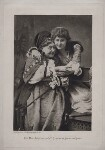 Fanny Stirling as the Nurse and Mary Anderson as Juliet in 'Romeo and Juliet', by W. & D. Downey, (circa 1885) - NPG  - © National Portrait Gallery, London