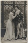 Nora Kerin as Juliet and Matheson Lang as Romeo in 'Romeo and Juliet', by Bassano Ltd, published by  Rotary Photographic Co Ltd, 1908 - NPG  - © National Portrait Gallery, London