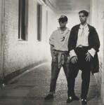 Pet Shop Boys (Chris Lowe; Neil Tennant), by Eric Watson, 1985 - NPG  - © Parlophone Records/Pet Shop Boys Partnership Ltd