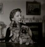 Esme Mary Sorrett ('Molly', née Fink), Rani of Pudukota (Pudukkottai), by Francis Goodman, November 1953 - NPG  - © National Portrait Gallery, London