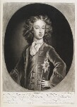 William, Duke of Gloucester, by and published by John Smith, after  Sir Godfrey Kneller, Bt, 1699 (1699) - NPG  - © National Portrait Gallery, London