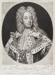 King George II when Prince of Wales, by and published by John Smith, after  Sir Godfrey Kneller, Bt, 1717 (1716) - NPG  - © National Portrait Gallery, London