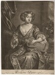 Mary Davis, published by Richard Tompson, after  Sir Peter Lely, 1678-1679 (circa 1674) - NPG  - © National Portrait Gallery, London