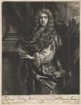 Robert ('Beau') Feilding, by Jan van der Vaart, published by  Richard Tompson, after  Sir Peter Lely, 1678-1679 - NPG  - © National Portrait Gallery, London