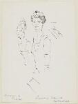 Marguerite ('Daisy') (née d'Harcourt), Baronne de Cabrol; Mary Germaine Nathalie (née Chauvin du Treuil), Baronne de Rothschild, by Cecil Beaton, 1950s? - NPG  - © National Portrait Gallery, London