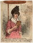 Jane Gibbs ('Mrs Gibbs the notorious street-walker, and extorter'), by James Gillray, published 23 September 1799 - NPG  - © National Portrait Gallery, London