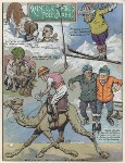 Winter Sports for Politicians, by Sir (John) Bernard Partridge, 1927 - NPG  - Reproduced with permission of Punch Ltd