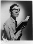 Kenneth Williams, by Anthony Buckley, 1957 - NPG  - © estate of Kenneth Hughes / National Portrait Gallery, London