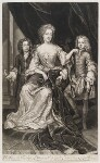 James Scott, Earl of Dalkeith; Anna Scott, Duchess of Monmouth and Duchess of Buccleuch; Henry Scott, 1st Earl of Deloraine, by and published by John Smith, after  Sir Godfrey Kneller, Bt, 1688 - NPG  - © National Portrait Gallery, London