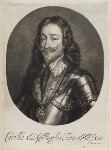 King Charles I, published by John Smith, after  Sir Anthony van Dyck, circa 1683-1729 - NPG  - © National Portrait Gallery, London
