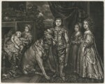 The Five Eldest Children of King Charles I, published by Alexander Browne, after  Sir Anthony van Dyck, circa 1680-84 (1637) - NPG  - © National Portrait Gallery, London