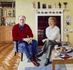 Neil Kinnock; Glenys Kinnock, by Andrew Tift, 2001 - NPG  - © National Portrait Gallery, London