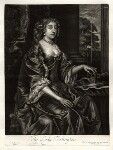 Isabella (née de Nassau), Countess of Arlington, published by Alexander Browne, after  Sir Peter Lely, circa 1684 - NPG  - © National Portrait Gallery, London