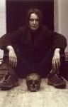 Sarah Lucas ('Self-Portrait with Skull'), by Sarah Lucas, 1997 - NPG  - © Sarah Lucas