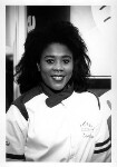 Tessa Sanderson, by Anderson & Low, 1996 - NPG  - © reserved; collection National Portrait Gallery, London