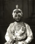 Sir Bhupinder Singh, Maharaja of Patiala, by Vandyk, 5 July 1911 - NPG  - © National Portrait Gallery, London