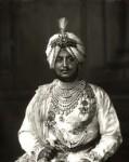 Sir Bhupindra Singh, Maharaja of Patiala, by Vandyk, 5 July 1911 - NPG  - © National Portrait Gallery, London